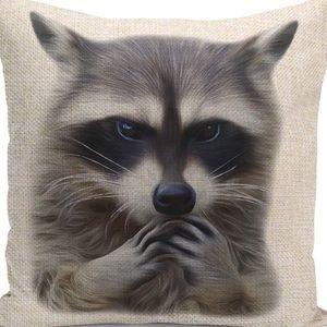 Other - Pillow Cover- New- Raccoon Barn Farm Animal